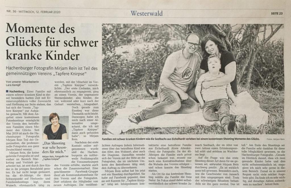 Pressebericht Tapfere-Knirpse Westerwald